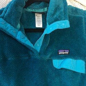 Teal Patagonia Pullover